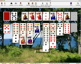 Pretty Good Solitaire for Mac OS X